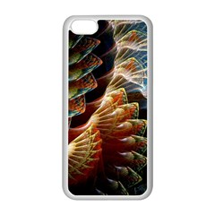 Fractal Patterns Abstract 3840x2400 Apple Iphone 5c Seamless Case (white) by amphoto
