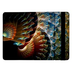 Fractal Patterns Abstract 3840x2400 Samsung Galaxy Tab Pro 12 2  Flip Case by amphoto
