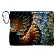 Fractal Patterns Abstract 3840x2400 Canvas Cosmetic Bag (xxl) by amphoto