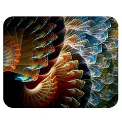 Fractal Patterns Abstract 3840x2400 Double Sided Flano Blanket (medium)  by amphoto