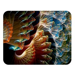Fractal Patterns Abstract 3840x2400 Double Sided Flano Blanket (large)  by amphoto