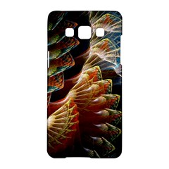 Fractal Patterns Abstract 3840x2400 Samsung Galaxy A5 Hardshell Case  by amphoto