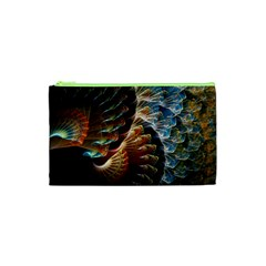 Fractal Patterns Abstract 3840x2400 Cosmetic Bag (xs) by amphoto