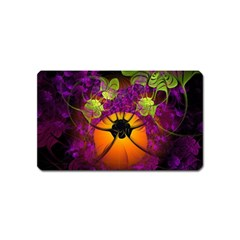 Patterns Lines Purple  Magnet (name Card) by amphoto