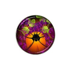 Patterns Lines Purple  Hat Clip Ball Marker by amphoto