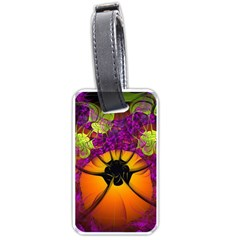 Patterns Lines Purple  Luggage Tags (two Sides) by amphoto