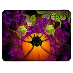 Patterns Lines Purple  Samsung Galaxy Tab 7  P1000 Flip Case by amphoto