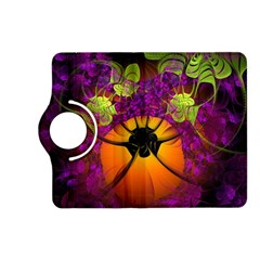 Patterns Lines Purple  Kindle Fire Hd (2013) Flip 360 Case by amphoto