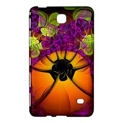 Patterns Lines Purple  Samsung Galaxy Tab 4 (8 ) Hardshell Case  by amphoto