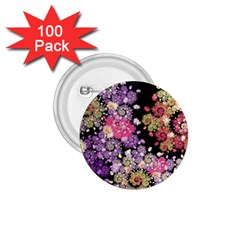 Abstract Patterns Fractal  1 75  Buttons (100 Pack)  by amphoto