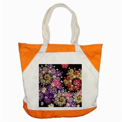 Abstract Patterns Fractal  Accent Tote Bag by amphoto