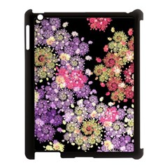 Abstract Patterns Fractal  Apple Ipad 3/4 Case (black) by amphoto