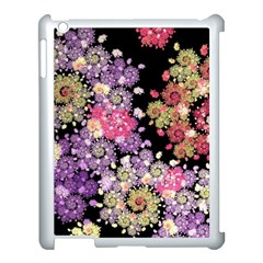 Abstract Patterns Fractal  Apple Ipad 3/4 Case (white) by amphoto