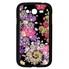 Abstract Patterns Fractal  Samsung Galaxy Grand Duos I9082 Case (black) by amphoto