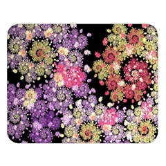 Abstract Patterns Fractal  Double Sided Flano Blanket (large)  by amphoto