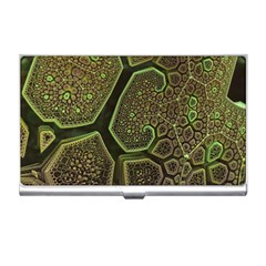 Fractal Weave Shape  Business Card Holders by amphoto