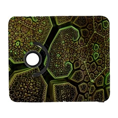 Fractal Weave Shape  Galaxy S3 (flip/folio) by amphoto