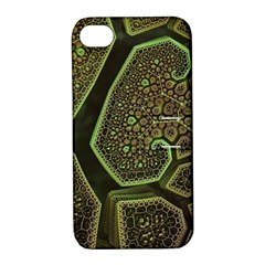 Fractal Weave Shape  Apple Iphone 4/4s Hardshell Case With Stand by amphoto
