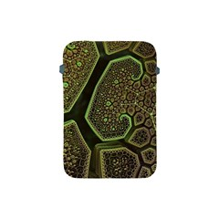Fractal Weave Shape  Apple Ipad Mini Protective Soft Cases by amphoto