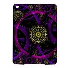 Fractal Neon Rings  Ipad Air 2 Hardshell Cases by amphoto