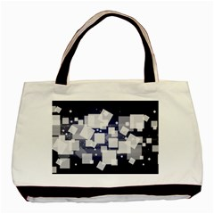 Squares Shapes Many  Basic Tote Bag by amphoto
