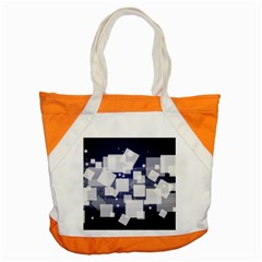 Squares Shapes Many  Accent Tote Bag by amphoto