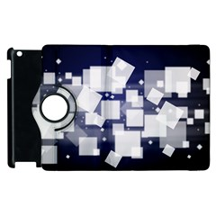 Squares Shapes Many  Apple Ipad 3/4 Flip 360 Case by amphoto