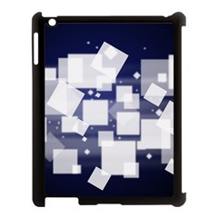 Squares Shapes Many  Apple Ipad 3/4 Case (black) by amphoto