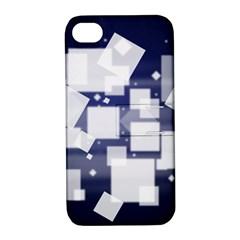 Squares Shapes Many  Apple Iphone 4/4s Hardshell Case With Stand by amphoto