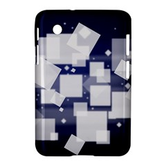 Squares Shapes Many  Samsung Galaxy Tab 2 (7 ) P3100 Hardshell Case  by amphoto