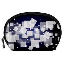 Squares Shapes Many  Accessory Pouches (large)  by amphoto