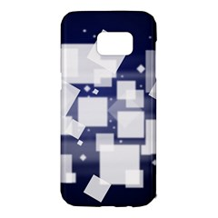 Squares Shapes Many  Samsung Galaxy S7 Edge Hardshell Case by amphoto