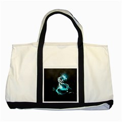 Dragon Classical Light  Two Tone Tote Bag by amphoto