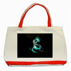 Dragon Classical Light  Classic Tote Bag (red) by amphoto