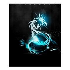 Dragon Classical Light  Shower Curtain 60  X 72  (medium)  by amphoto