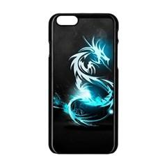 Dragon Classical Light  Apple Iphone 6/6s Black Enamel Case by amphoto