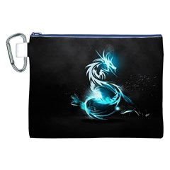 Dragon Classical Light  Canvas Cosmetic Bag (xxl) by amphoto