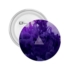 Smoke Triangle Lilac  2 25  Buttons by amphoto