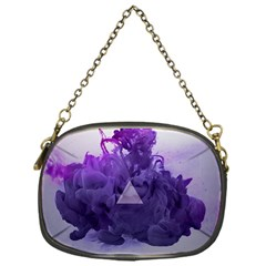 Smoke Triangle Lilac  Chain Purses (one Side)  by amphoto