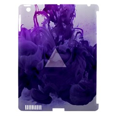 Smoke Triangle Lilac  Apple Ipad 3/4 Hardshell Case (compatible With Smart Cover) by amphoto