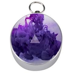 Smoke Triangle Lilac  Silver Compasses by amphoto