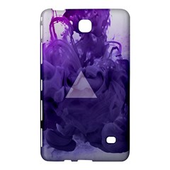 Smoke Triangle Lilac  Samsung Galaxy Tab 4 (8 ) Hardshell Case  by amphoto