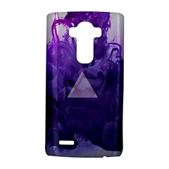 Smoke Triangle Lilac  Lg G4 Hardshell Case by amphoto