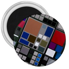 Abstract Composition 3  Magnets by Nexatart