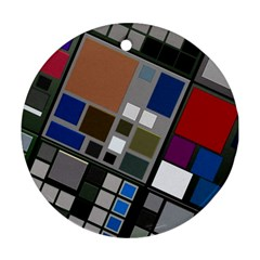 Abstract Composition Ornament (round)