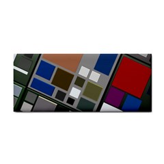 Abstract Composition Cosmetic Storage Cases by Nexatart