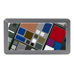 Abstract Composition Memory Card Reader (mini)