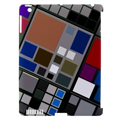 Abstract Composition Apple Ipad 3/4 Hardshell Case (compatible With Smart Cover)
