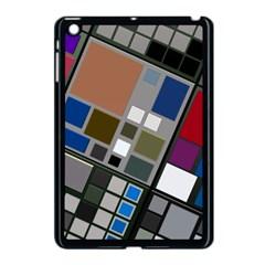 Abstract Composition Apple Ipad Mini Case (black)
