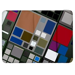 Abstract Composition Samsung Galaxy Tab 7  P1000 Flip Case